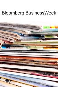 Bloomberg Businesweek magazine image
