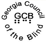 Georgia Council of the Blind Logo