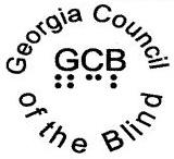 Georgia Council of the Blind Logo