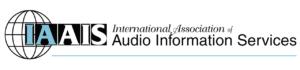 International Association of Audio Information Services Logo